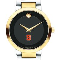 Syracuse University Men's Movado Two-Tone Modern Classic Museum with Bracelet