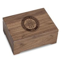 Florida State University Solid Walnut Desk Box