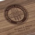 Florida State University Solid Walnut Desk Box - Image 3