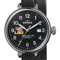 LSU Shinola Watch, The Birdy 38mm Black Dial