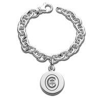 Clemson Sterling Silver Charm Bracelet
