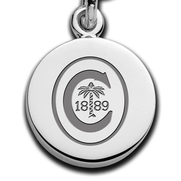 Clemson Sterling Silver Charm Bracelet - Image 2