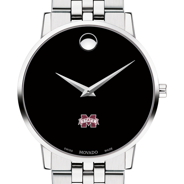 Mississippi State Men's Movado Museum with Bracelet