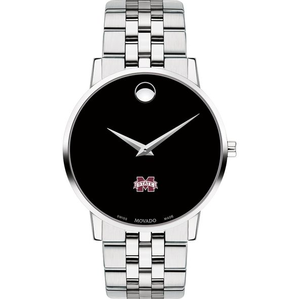 Mississippi State Men's Movado Museum with Bracelet - Image 2
