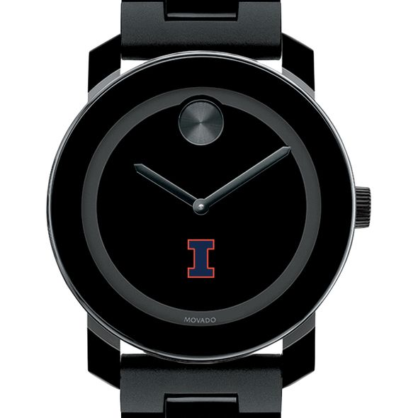 University of Illinois Men's Movado BOLD with Bracelet