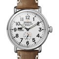 MIT Sloan Shinola Watch, The Runwell 41mm White Dial - Image 1