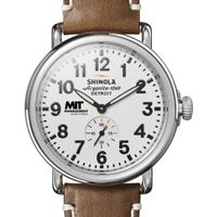 MIT Sloan Shinola Watch, The Runwell 41mm White Dial