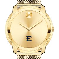 East Tennessee State University Men's Movado Gold Bold 44