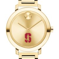 Stanford University Women's Movado Gold Bold 34
