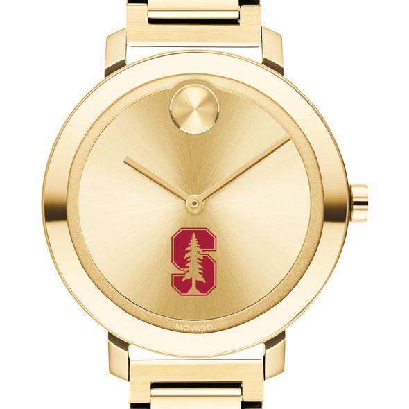 Stanford University Women's Movado Gold Bold 34