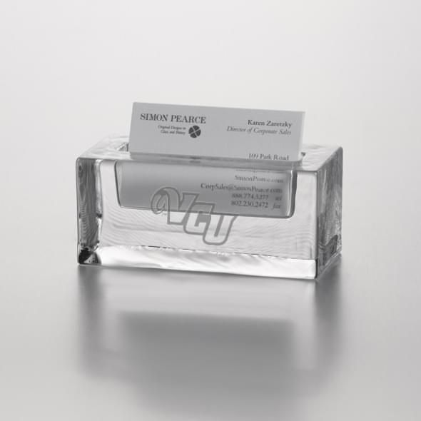 VCU Glass Business Cardholder by Simon Pearce - Image 2