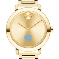 University of North Carolina Women's Movado Gold Bold 34