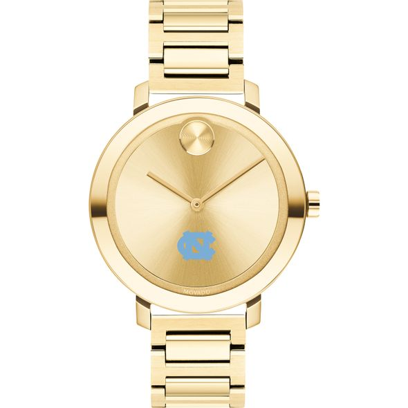 University of North Carolina Women's Movado Gold Bold 34 - Image 2
