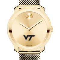 Virginia Tech Women's Movado Gold Bold 36