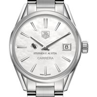 SFASU Women's TAG Heuer Steel Carrera with MOP Dial