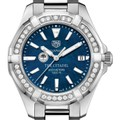 Citadel Women's TAG Heuer 35mm Steel Aquaracer with Blue Dial - Image 1