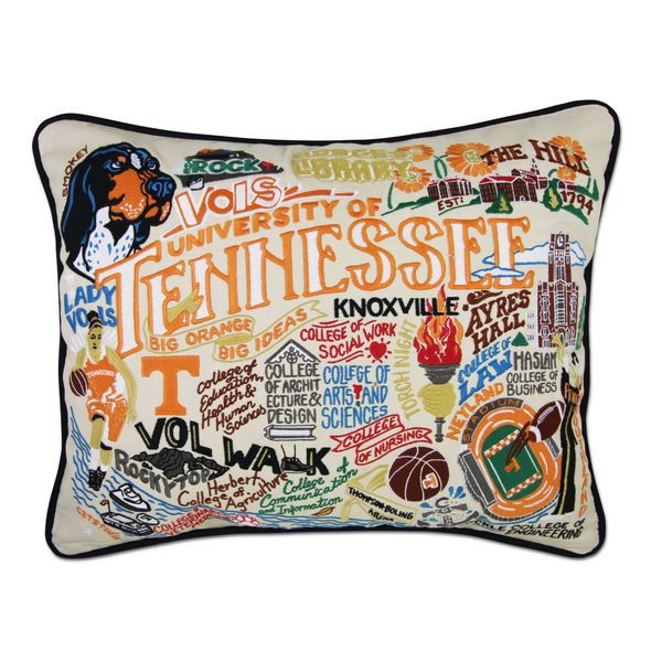 Tennessee Embroidered Pillow - Image 1