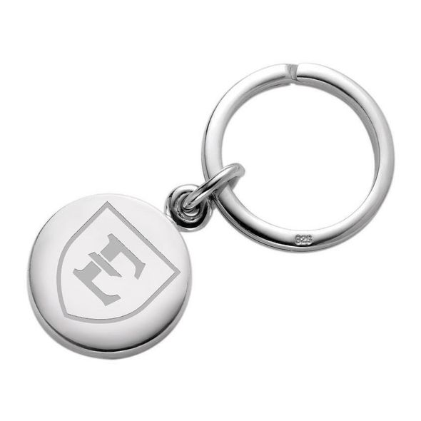 East Tennessee State University Sterling Silver Insignia Key Ring