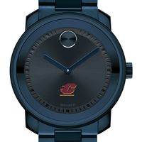 Central Michigan University Men's Movado BOLD Blue Ion with Bracelet