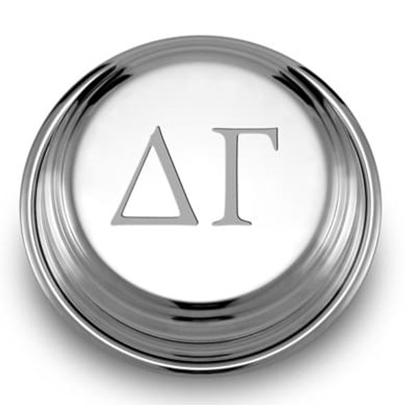 Delta Gamma Pewter Paperweight - Image 1