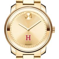 Harvard University Men's Movado Gold Bold
