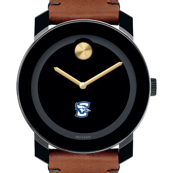 Creighton Men's Movado BOLD with Brown Leather Strap