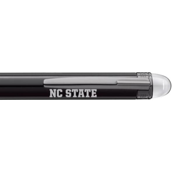 North Carolina State Montblanc StarWalker Ballpoint Pen in Ruthenium - Image 2