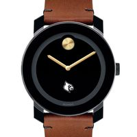 University of Louisville Men's Movado BOLD with Brown Leather Strap