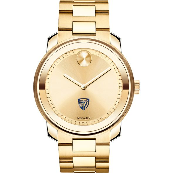 Johns Hopkins University Men's Movado Gold Bold - Image 2
