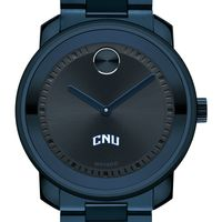 Christopher Newport University Men's Movado BOLD Blue Ion with Bracelet