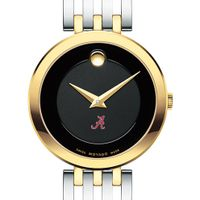 University of Alabama Women's Movado Esparanza Two-Tone Museum with Bracelet