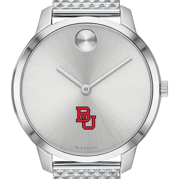 Boston University Women's Movado Stainless Bold 35