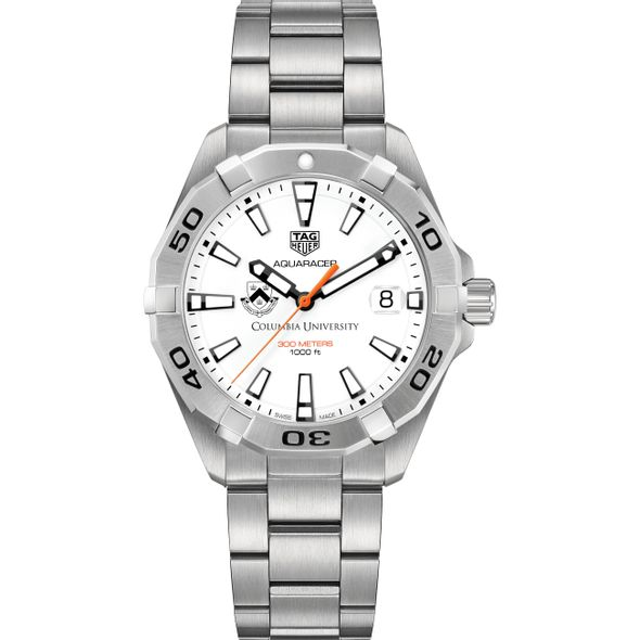 Columbia University Men's TAG Heuer Steel Aquaracer - Image 2