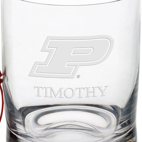 Purdue University Tumbler Glasses - Set of 4 - Image 3