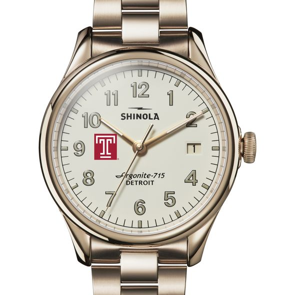 Temple Shinola Watch, The Vinton 38mm Ivory Dial