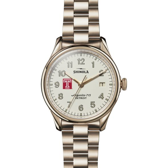 Temple Shinola Watch, The Vinton 38mm Ivory Dial - Image 2