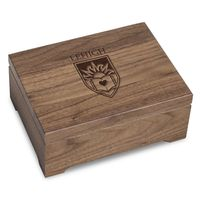 Lehigh University Solid Walnut Desk Box