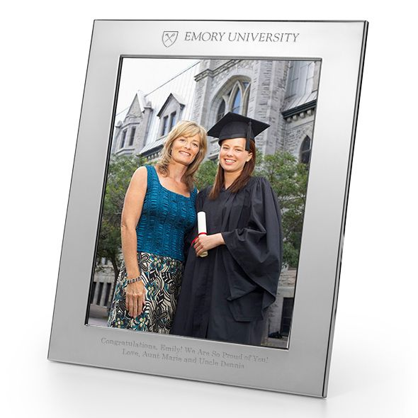 Emory Polished Pewter 8x10 Picture Frame - Image 1
