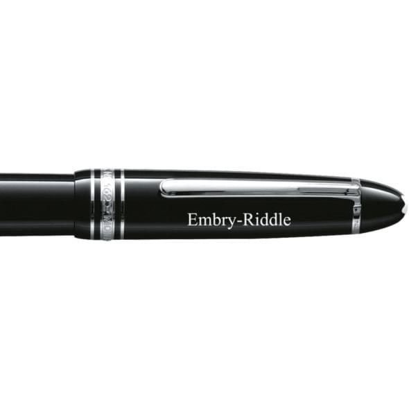 Embry-Riddle Montblanc Meisterstück LeGrand Rollerball Pen in Platinum - Image 2
