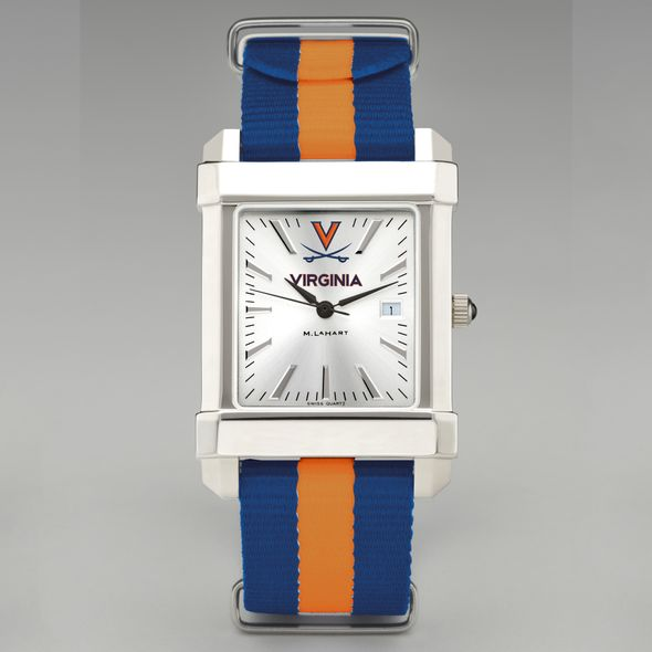 University of Virginia Collegiate Watch with NATO Strap for Men - Image 2