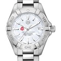 Ohio State Women's TAG Heuer Steel Aquaracer w MOP Dial - Image 1
