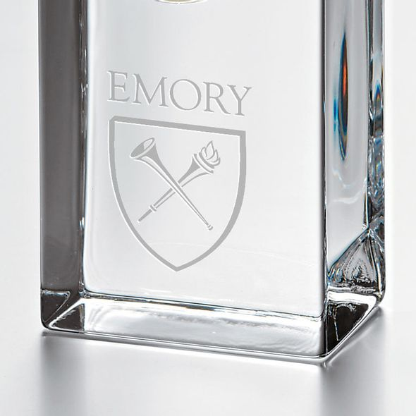Emory Tall Desk Clock by Simon Pearce - Image 2