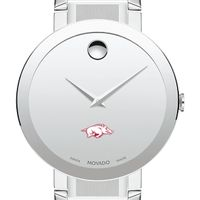 University of Arkansas Men's Movado Sapphire Museum with Bracelet