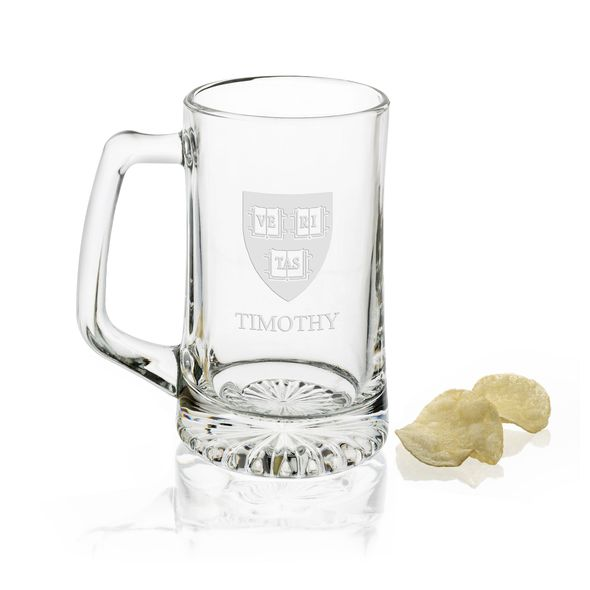 Harvard 25 oz Beer Mug