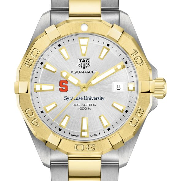 Syracuse University Men's TAG Heuer Two-Tone Aquaracer