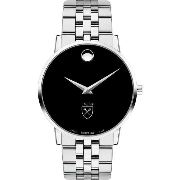 Emory University Men's Movado Museum with Bracelet - Image 2