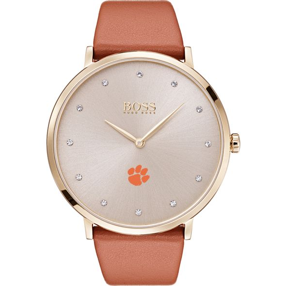 Clemson Women's BOSS Champagne with Leather from M.LaHart - Image 2