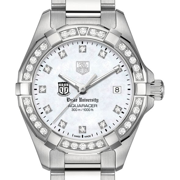 Duke University W's TAG Heuer Steel Aquaracer with MOP Dia Dial & Bezel