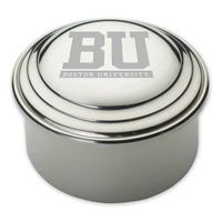 Boston University Pewter Keepsake Box