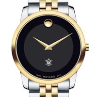 William & Mary Men's Movado Two-Tone Museum Classic Bracelet